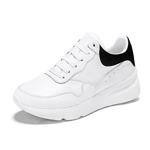 Forme Blanc Femmes Épais Petit Taille Printemps Hwf Black Chaussures XqwTRXH