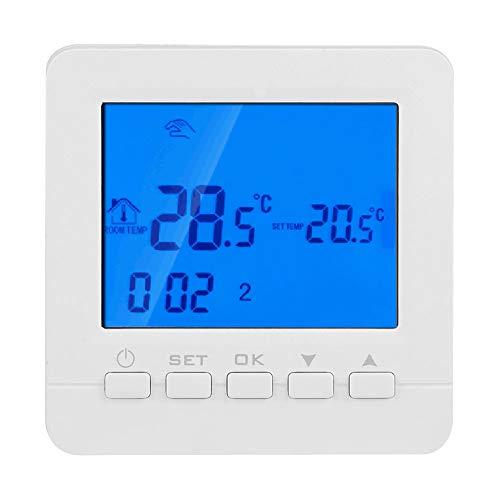 FTVOGUE Termostato programmabile Intelligente Wi-Fi 16A Display LCD Digitale Termostato regolatore di Temperatura