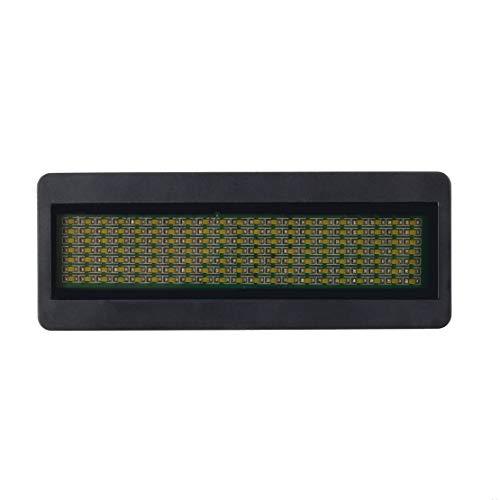 Sanzhileg LED-Namensschild-Zeichen Scrollende Werbung/Visitenkarte Zeigen Anzeigeumbau/Programmierer / bestellen Digitalanzeige Englisch Großhandel Tech