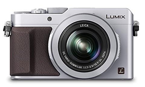 Panasonic DMC-LX100EBS Digital Camera (4/3 inch MOS Sensor, f1.7-2.8 LEICA DC VARIO-SUMMILUX Lens with 24-75mm) –