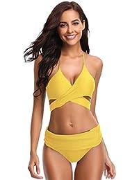 25fe5f61f290f Suchergebnis auf Amazon.de für: Gelb - Bademode / Damen: Bekleidung