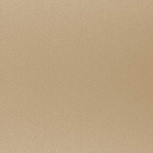 HaGa® Filz Bastelfilz Filzstoff Filzwolle Stoff 1,5m Br. (Meterware) hellbraun