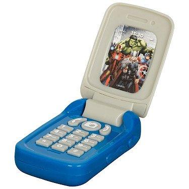 Preisvergleich Produktbild Marvel – Avengers Assemble – Flip Top Phone – Klapphandy mit Soundseffekt (Englische Sprache)