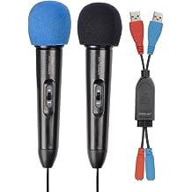 Nintendo Wii - STARLET Microphone Set, schwarz [Importación alemana]