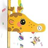 HOUSEHOLD Wohnzimmer 3D-Stereo-Kind Höhe Wand-Aufkleber Wohnzimmer Stereo Measure Baby Baby Höhe Aufkleber entfernbarer Karikatur-Giraffe Höhe Lineal dekorativen Wand-Aufkleber 3D