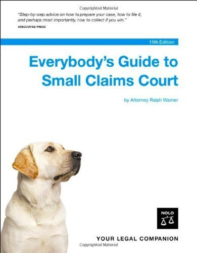 Everybody's Guide to Small Claims Court (National Edition) by Ralph Warner (2006-06-04)