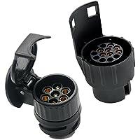 FLAMEER 7-Pins Buchse Anh/ängerkupplung Adapter Anh/ängerstecker f/ür Autos Und Andere Fahrzeuge