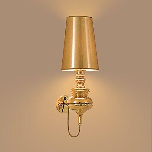 fixé au mur Le mur d'étude de chambre à coucher brève moderne allume la lampe de chevet simple de lampe de mur de salon créatif (Couleur : B-20*58cm)