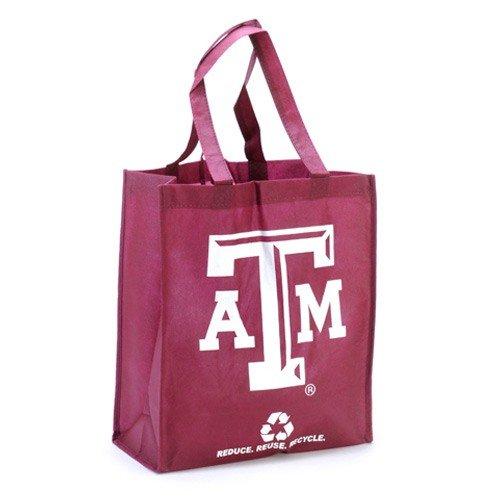 FOCO Texas A&M Dollar General 2010 Printed Non-Woven Polypropylene Reusable Grocery Tote Bag