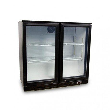 Bartisch Kühlfunktion 2Glasschiebetüren