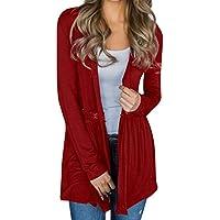 Strickjacke Frauen Mantel Long Cape Blazer Outwear Plus Size Bequem Komfortabel