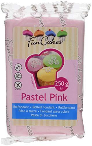 FunCakes Rollfondant rosa -Pastel pink, 1er Pack (1 x 250 g)