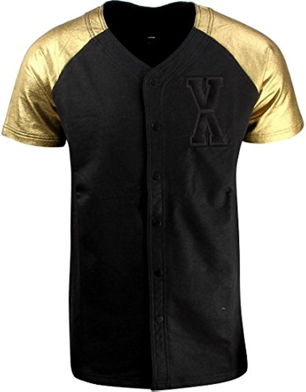 Puma x Vashtie Logo Sweat Tee (Black/Gold)