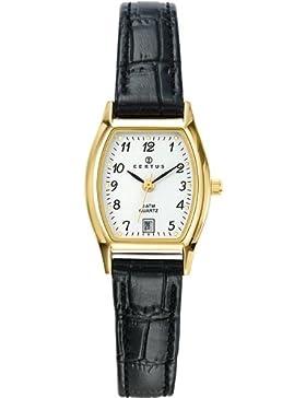 Certus Damen-Armbanduhr Analog Quarz Leder 646502