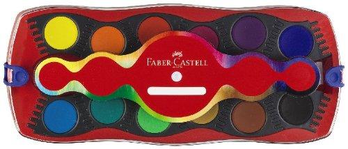 Faber-Castell 125030 - Farbkasten CONNECTOR mit 12 Farben, inklusive Deckweiß - 2