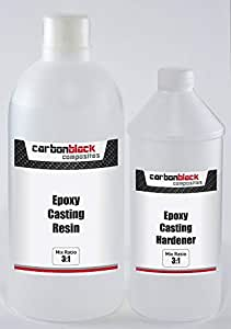 carbonblack composites | Epoxy Water Clear Casting Resin kit | 255g + 85g
