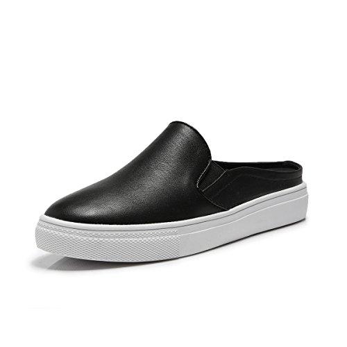 Deslizador Preto Baixos Senhora Confortáveis Lazer Leves Plana De Respirável moda Sapatos Casuais qqr5PWfv