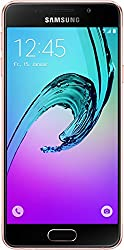 Samsung Galaxy A3 Smartphone (12 cm (4,71 Zoll) HD Super AMOLED Touch-Display, 16 GB, Android 5.1) pink-gold