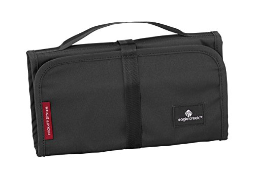 Eagle Creek Kulturbeutel Pack-It Original Slim Kit Hygienetasche mit Spiegel Trousse de toilette, 26 cm, 1.5 liters, Noir (Black)