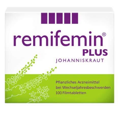 Remifemin Plus Johanniskraut Spar Set: 2 x 100 Stück Bietet die bewährte Kombination aus der...