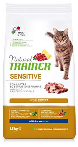 Trainer Natural Cat Sensitive Adult con Anatra 1.5 kg X 6-9000 Gr