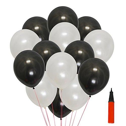 Autumn Love 200 Luftballon und 1 Ballonpumpe Kugelförmige 12