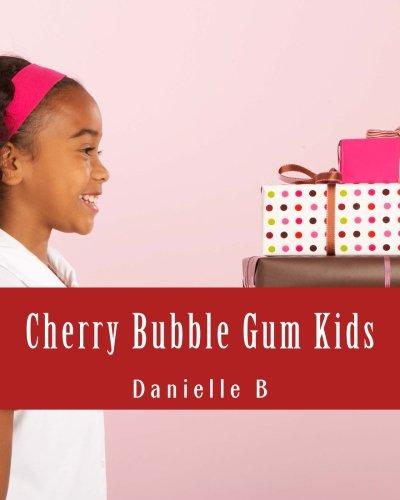 Cherry Bubble Gum Kids: Creative Art Coloring Book