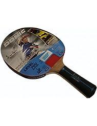 Donic Schildkröt Waldner 700 Raquette pour tennis de table DVD d'apprentissage inclus (import allemand) Noir/rouge