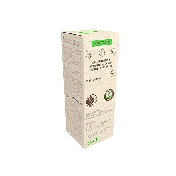 DUAL Vitamin C Face Serum| Suero Facial 100% Natural y Vegano Con Vitaminas C, E y Ácido Hialurónico | Poder Vegetal | Hidratación y Anti-edad | Certificado por Laboratorio | 20ml | Hecho en Alemania