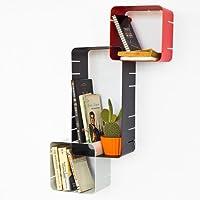 Modernes Hängesteckregal (3 Cubes), Cube Regal, Würfel Regal, Wandregal, FRG23 preisvergleich bei kinderzimmerdekopreise.eu
