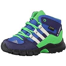 adidas TERREX MID GTX I - Botas de senderismopara niños, Azul - (AZUBAS/BLATIZ/VERENE), 22