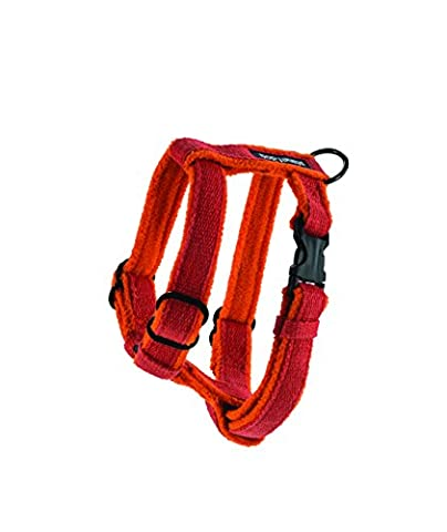 Planet Dog Cozy Hemp Adjustable Harness Orange,