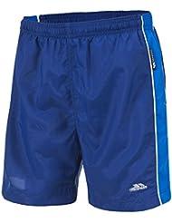Trespass Brandon Pantalones Cortos de Piscina, Niños, Azul (Twi), 9/10