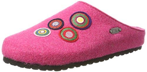 Supersoft Damen 522 208 Pantoffeln Pink (Fuchsia)