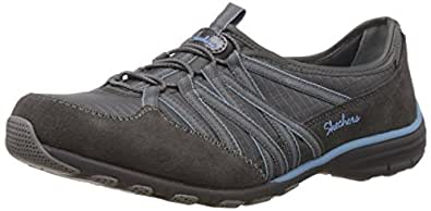 Skechers Conversations Holding Aces, Sneakers basses femme, Grey (Cclb), 39