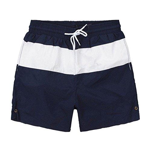 2 Pack Des Hommes Quick Dry Sports été Loisirs Plage Courir Frapper La Couleur Swim Trunk Tailles Et Couleurs Assorties A