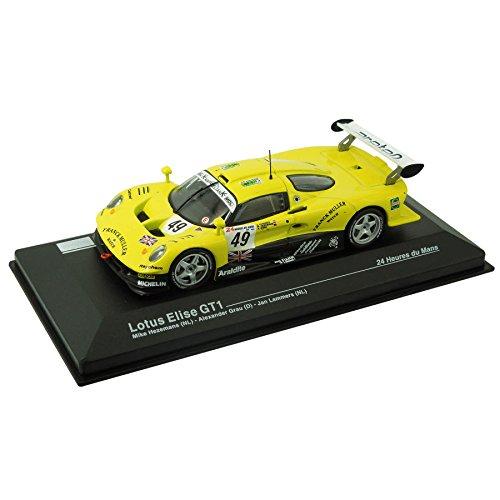 Modellauto Lotus Elise GT1 - 24-Stunden-Rennen von Le Mans (1:43) - gelb (24-stunden-rennen Auto)