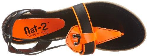 N2loopborw Outdoor Schwarz sandalen 2 Damen Arancio nero Nat 5SHqx