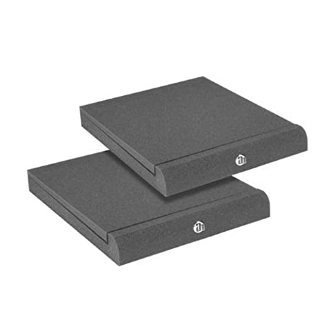 Adam Hall Stands PAD ECO Series SPADECO2 Absorber Plate for Studio Monitors Anthracite