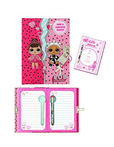 Notebook c/lápiz A6 Lol Surprise