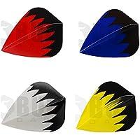 Bullydarts Con forma de cometa dardos 'plumas', azul