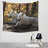 Morbuy Tapisserie Murales Ours Polaire Wolf Hippie Décoration Tenture Couverture...