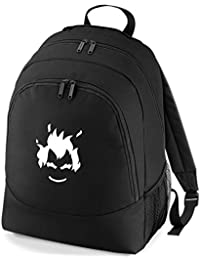 Embroidered Overwatch Junkrat gamers rucksack backpack PS4 XBOX (black)