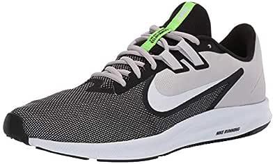 Nike Men's Downshifter 9 Black/White-Vast Grey Running Shoes-6 UK (40 EU) (7 US) (AQ7481-007)