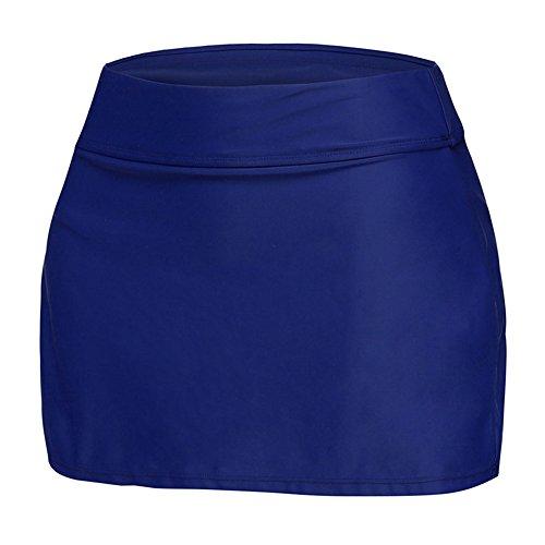 Highdas Sommer Beachshort Plus Size Swim Boardshort Womens Tankini Shorts Badeanzüge Bademode Shorts Damen Bottom Dark Blue - Womens Plus Shorts Swim