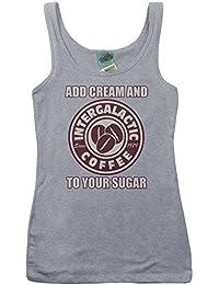 Beastie Boys inspired Intergalactic coffee inspired, Women's Vest