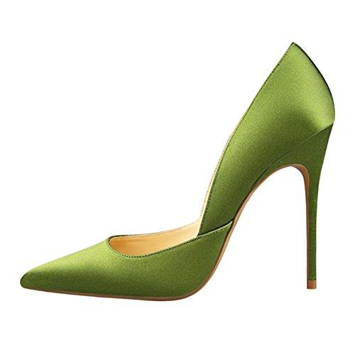MERUMOTE, Scarpe col tacco donna Verde