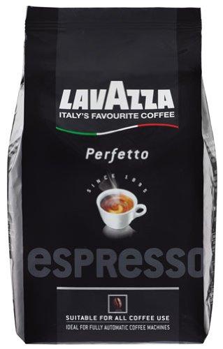 Lavazza Espresso Perfetto, Ganze Bohne - 1kg - 2x