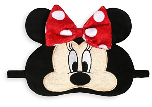 bnwt plush Primark Minnie Mouse eye sleep mask sleeping black out