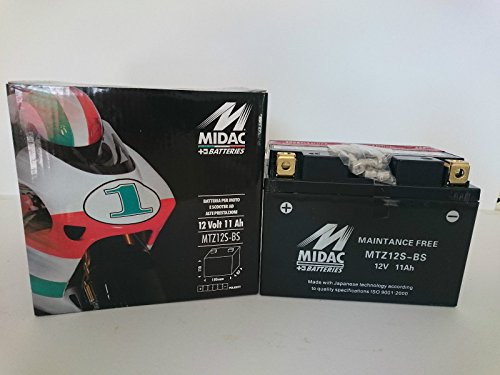 BATTERIA MOTO MIDAC MTZ12S-BS (YTZ12S-BS)